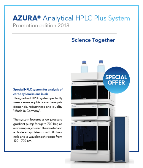 Promotions - Separations Analytical Instruments